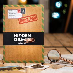 """Hidden-Games-Fall 3 """"GRÜNES GIFT"""""""