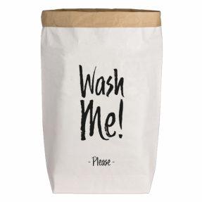 "17;30 Paperbag L ""Wash me! Please"""