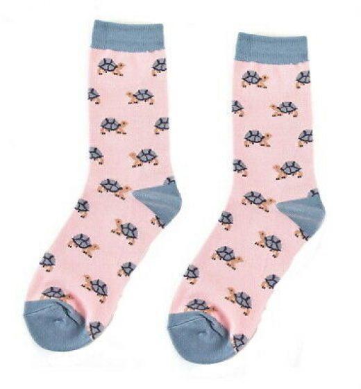 Turtle-Socks-Girls-Bamboo-Mix-Novelty-Gift-Ladies