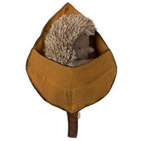 """Maileg - """"Hedgehog in leaf"""""""